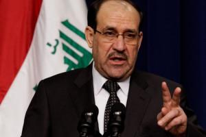رئيس الحكومة العراقية نوري المالكي ...