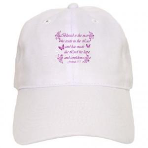 Bible Gifts > Bible Hats & Caps > Inspirational Christian quotes Cap