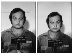 John Belushi mug shots for