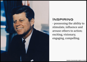 Learning from JFK: Be An Inspirational Leader – PLUS free book ...