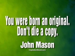 Being Yourself Quotes – John Mason