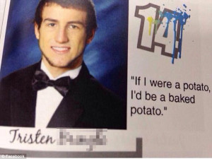 Meme-tastic: This teen named Tristen took his year-end inspiration ...