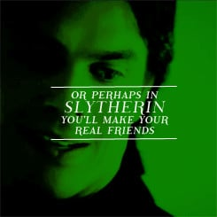 Slytherin Quotes Slytherin Quote by Damon