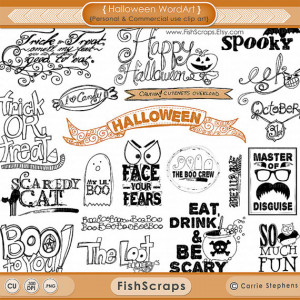 ... Photoshop Brushes & PNG clipart - Quotes - Candy - Ghosts - Cat
