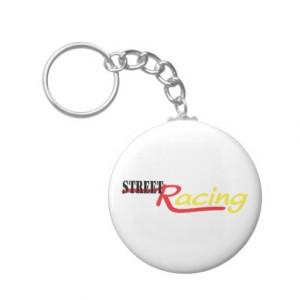Street Racing Race Driver Car Key Chains