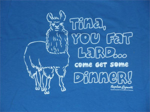 Napoleon Dynamite Tina You Fat Lard Mens T-Shirt