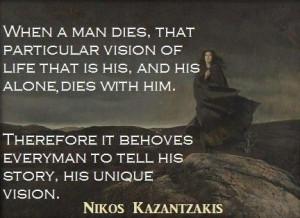 Nikos Kazantzakis ~*~
