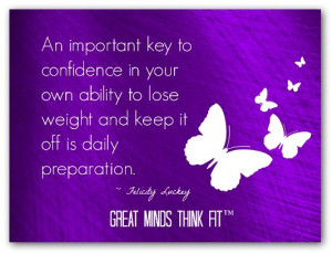 Confidence is a Key to Your Weight Loss Success