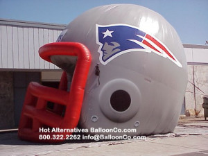 New England Patriots Football Helmet Tunnel New for 2007 Season