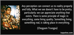 Perception Is Reality Quote
