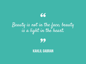 quotes to make you feel beautiful
