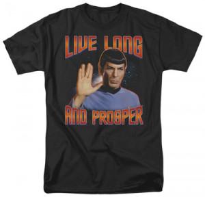 Star Trek - Live Long and Prosper - Buy this t-shirt at AllPosters.com