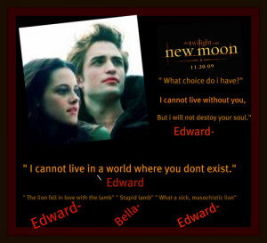 Edward and Bella quotes - twilight-series Fan Art