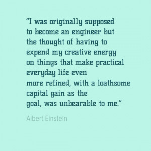 Engineering Quotes - Albert Einstein
