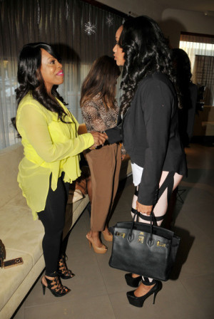 Niecy Nash Picture During Basketball Wives Star Tami Roman Launches
