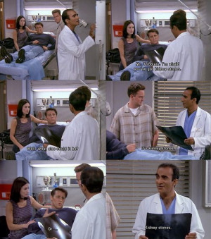 Kidney stones // I have never felt for Joey more in my life than these ...