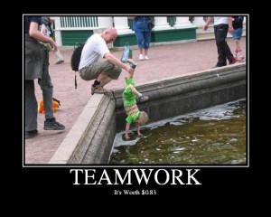 Humorous Teamwork Quot...