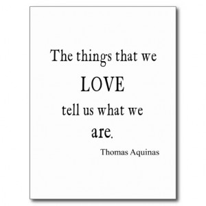 vintage_aquinas_love_inspirational_quote_quotes_postcard ...