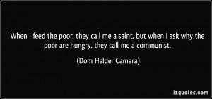 Dom Helder Camara Quote