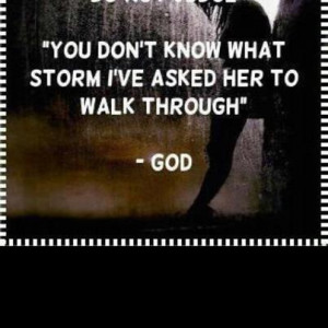 God's storm