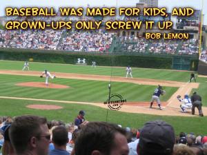 Funny Baseball Sayings