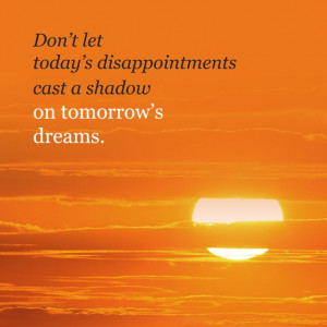 Tomorrow is a new day! #quotes
