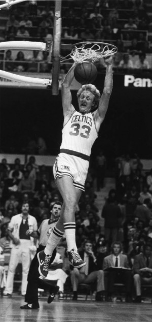 the photo larry bird isn t normally associated with slam