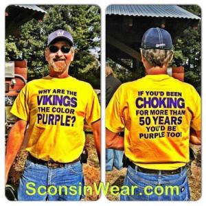 Packers vs Vikings Tickets 2012 | Win a Sconsinwear.com T-Shirt ...