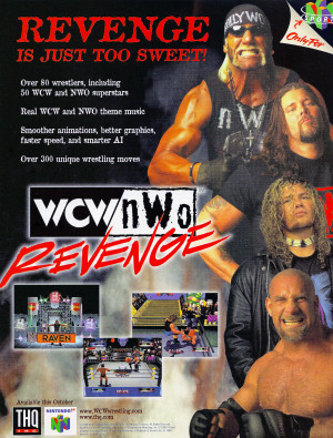 Wcw Nwo Revenge Screenshots