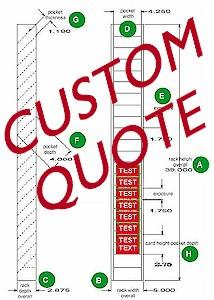 custom rack quote model custom price $ 0 00 shipping weight 0 quantity ...