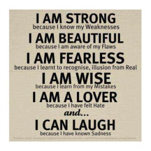 Am Beautiful Quotes For Girls Co i am strong quotes