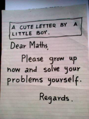cute letter by little boy - funny images