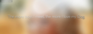 Carrie Underwood The More Boys I Meet Quote Facebook Cover