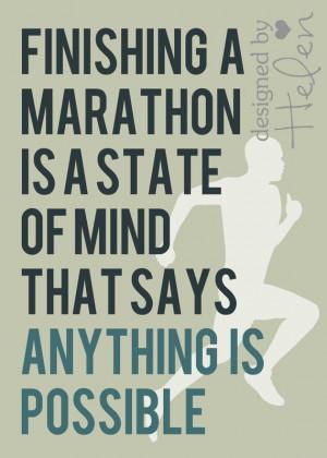 The Last Run Before the Marathon