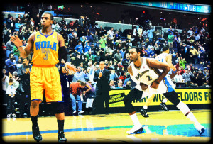 Chris Paul vs. John Wall - Washington Wizards vs. New Orleans Hornets ...