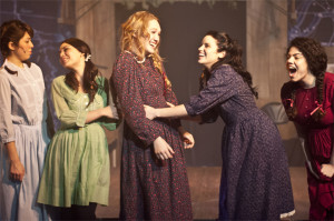 "... Hope Lauren, Lindsay Pearce and Tiffany Gray in ""Spring Awakening"