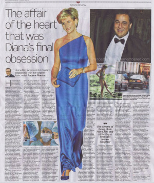 Hasnat Khan article: Diana France