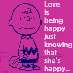 peanuts+love+quotes | Love quote by Peanuts cartoon via www.Facebook ...