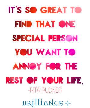 Rita Rudner Quotes...