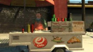 GTA IV Pedestrian Quotes Street Food Seller