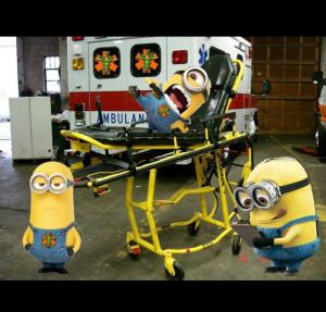 Minion Love Quotes Paramedic minions - love my