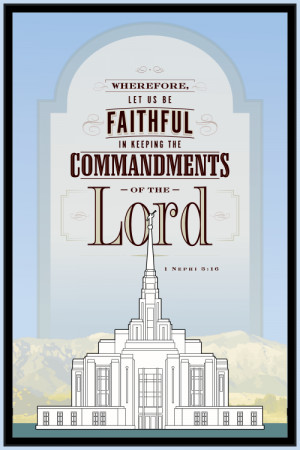 If you haven't gone to the Ogden Temple open house yet, please do ...