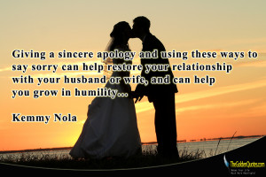 Sincere Apology Quotes