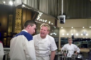 Hell's Kitchen' 7 quotes and photos: Andrew talks a big game, walks ...