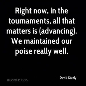 David Steely Quotes