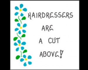 Popular items for hairdresser on Etsy