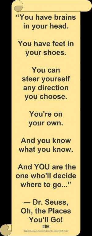 Dr Seuss ♥ ~ #Quote #Author # inspirational