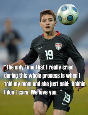 Five revealing quotes from a gay ex-U.S. national team player