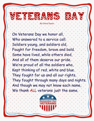 Veterans Day 2014 Quotes, Images, Freebies, Status, Message, History ...