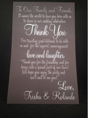 ... Wedding Guest Letter, Wedding Thank You, Thank You Letter, Destination